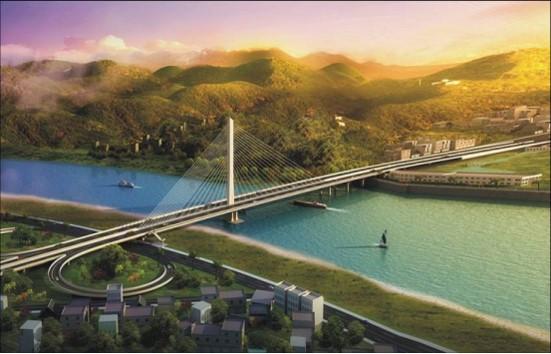 梅州市广州大桥项目