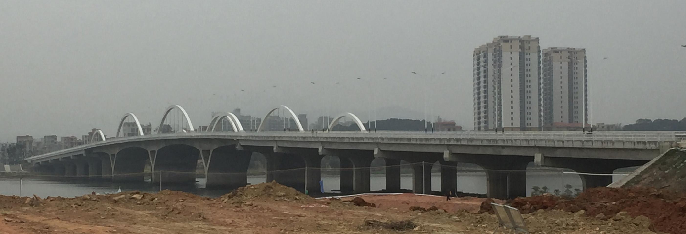 四会市贞山大桥工程施工监理