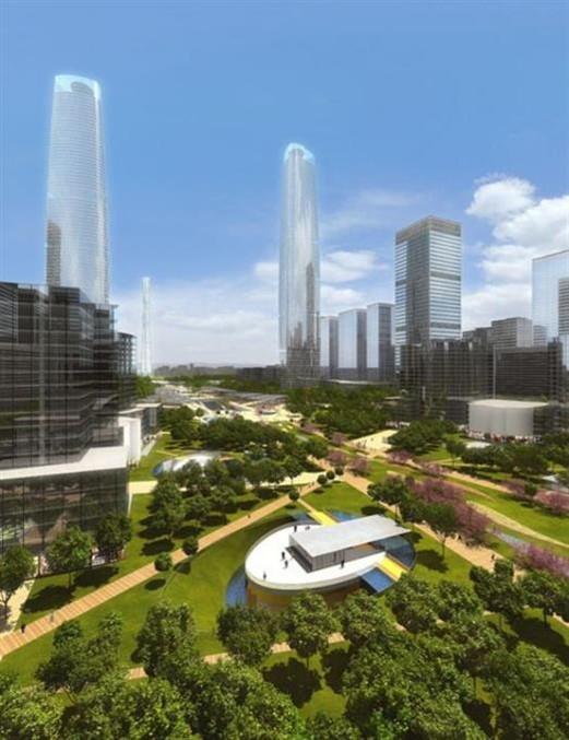 珠江新城核心区市政交通项目地下空间